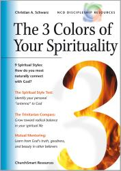 The 3 Colors of Your Spirituality (Titel auf Englisch)